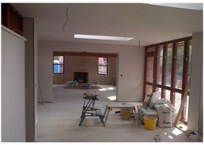 Plastering new-builds & renovations