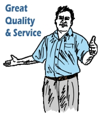 great quality and service